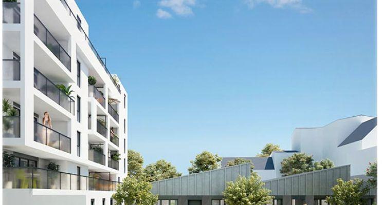 Photo n°2 du Résidence « Quai Chazelles » programme immobilier neuf à Lorient