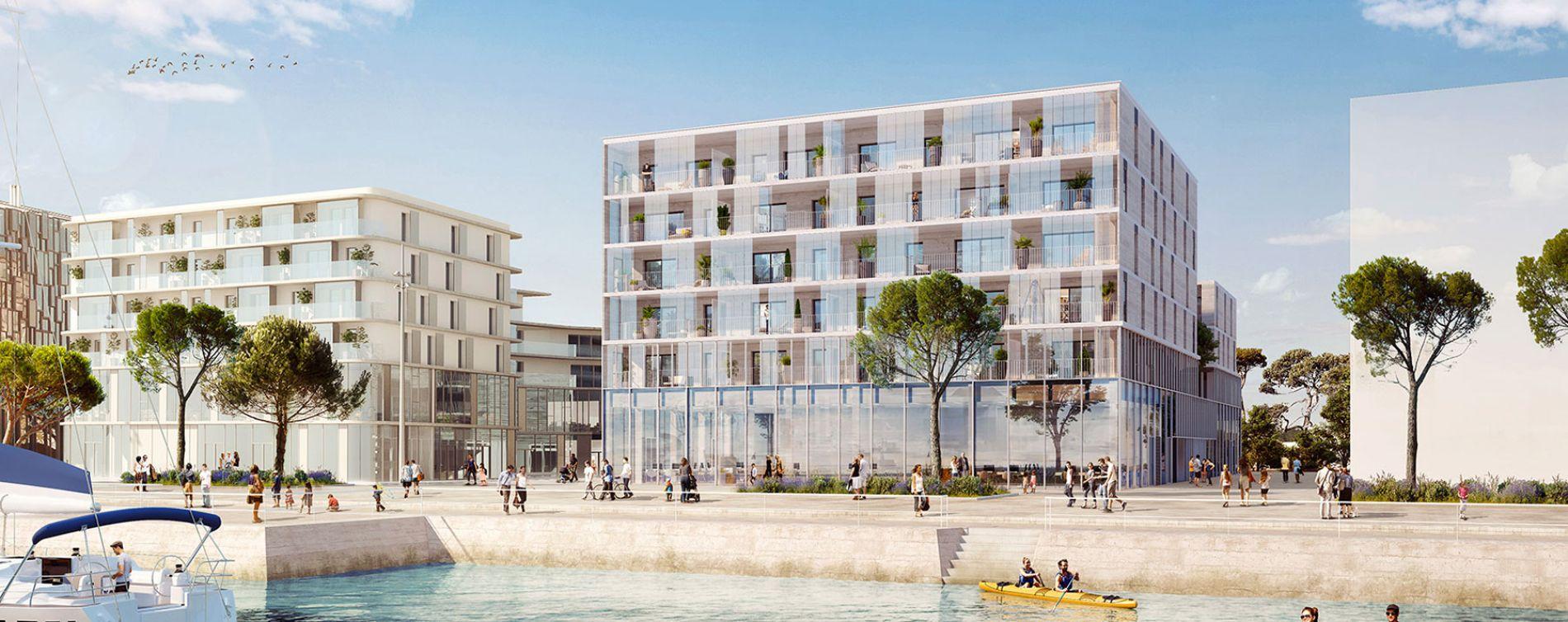 Résidence Quai Péristyle à Lorient