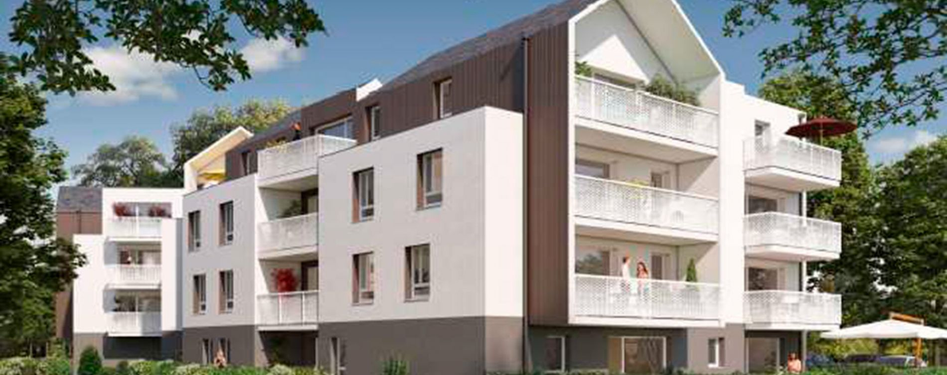 Séné : programme immobilier neuve « L'Alcyone »
