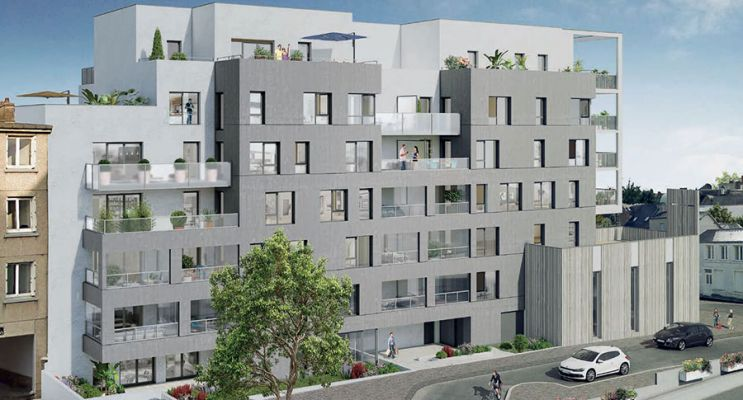 Résidence « Avant-Scène » programme immobilier neuf à Vannes n°1
