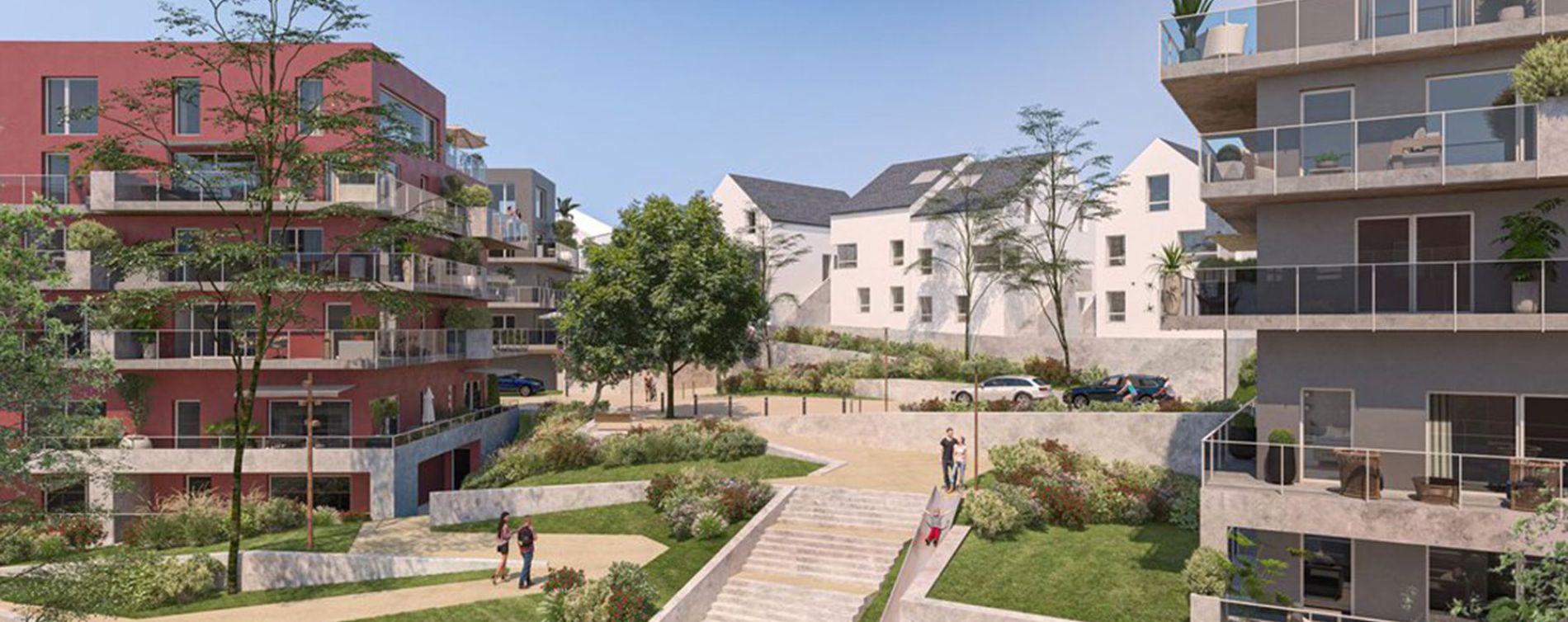 Vannes : programme immobilier neuve « Belvédère » (2)