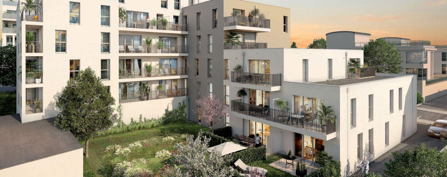 Vannes : programme immobilier neuve « Ker Léguillon » en Loi Pinel