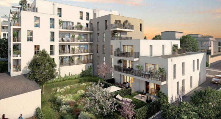 Vannes : programme immobilier neuf « Ker Léguillon » en Loi Pinel