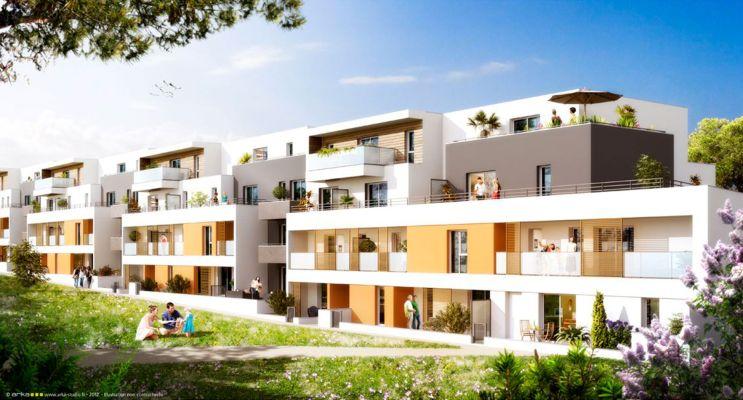 Photo du Résidence « Zest » programme immobilier neuf à Vannes