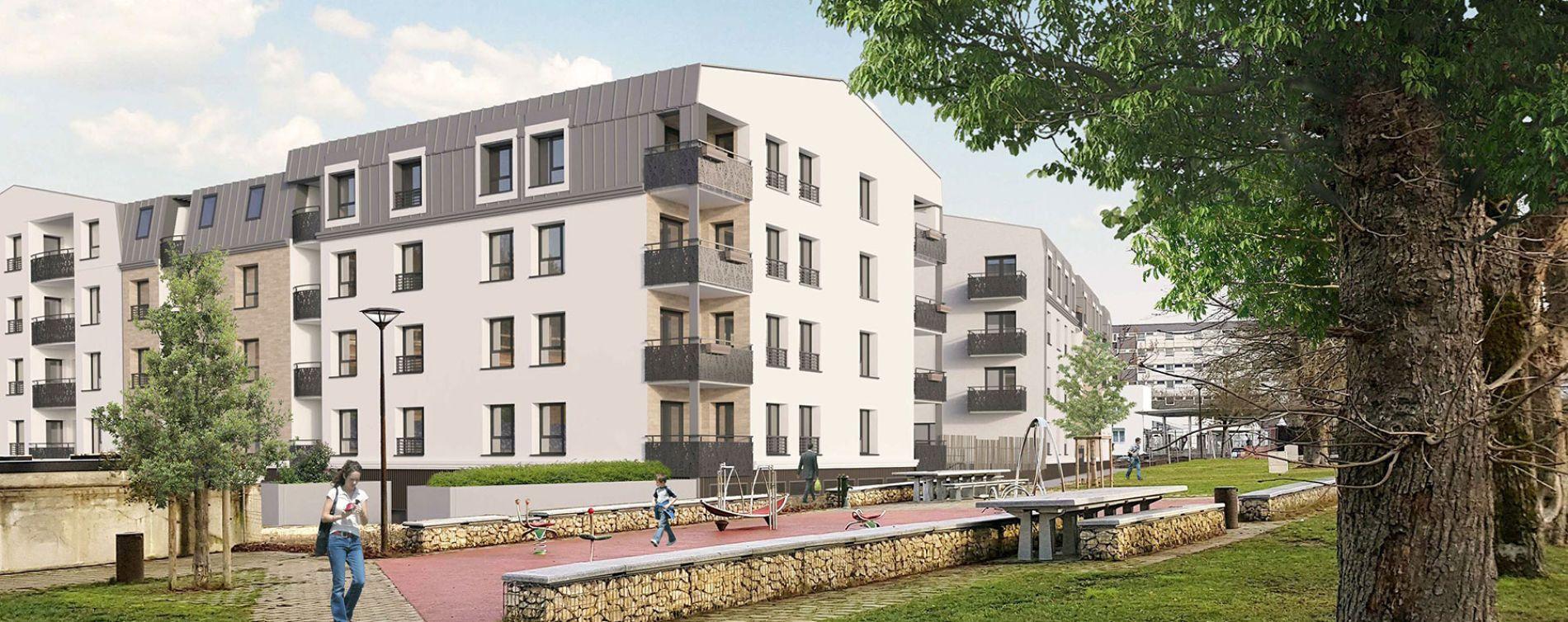 Bourges : programme immobilier neuve « Villas Ginkgos Le Bilboa »