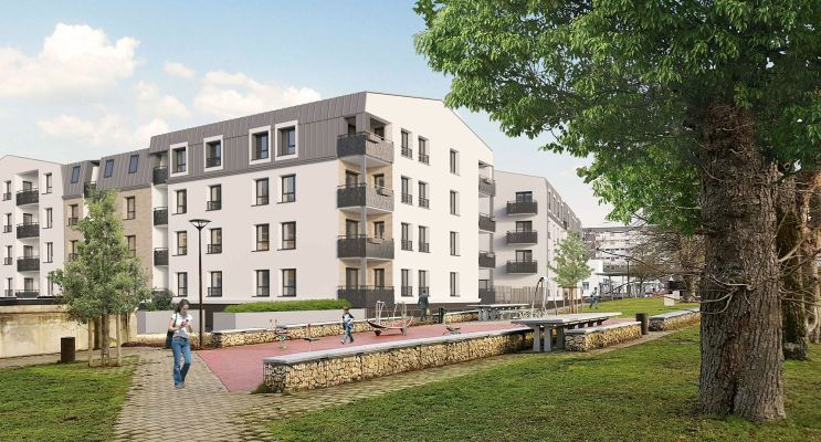 Bourges : programme immobilier neuf « Villas Ginkgos Le Bilboa »