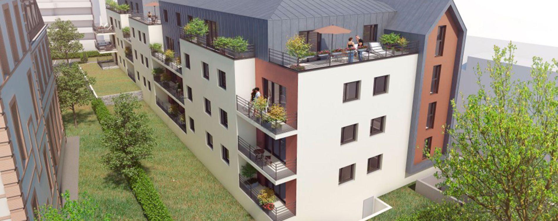 Chartres : programme immobilier neuve « Carré Gabriel » (2)