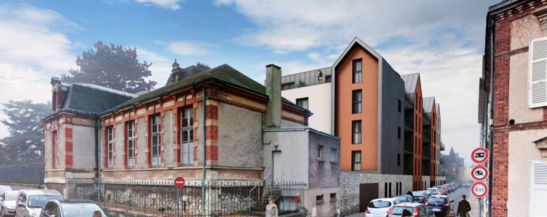 Chartres : programme immobilier neuve « Carré Gabriel » (3)