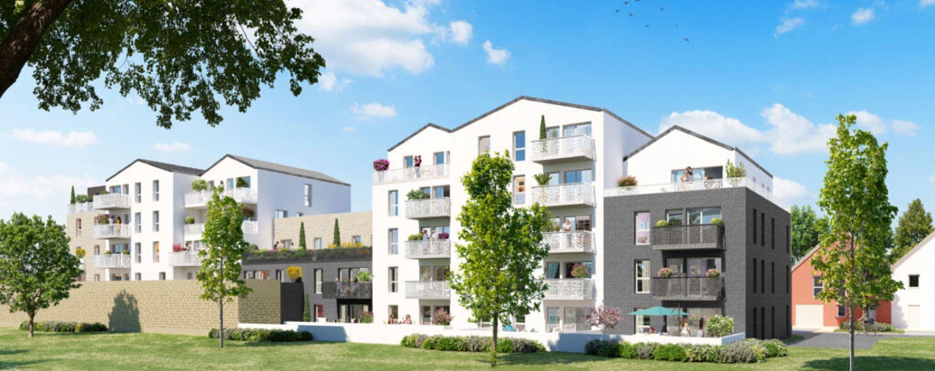 Chartres : programme immobilier neuve « Programme immobilier n°219305 » en Loi Pinel