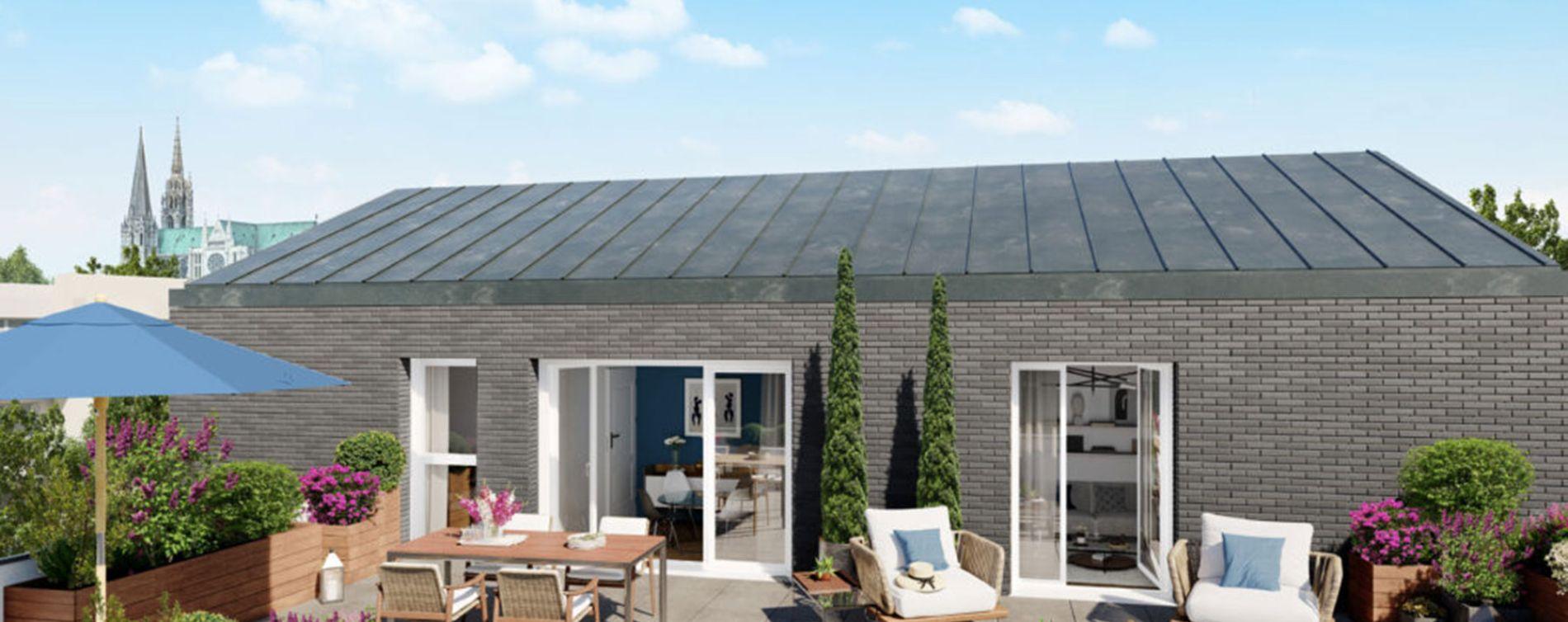 Chartres : programme immobilier neuve « Programme immobilier n°219305 » en Loi Pinel (5)