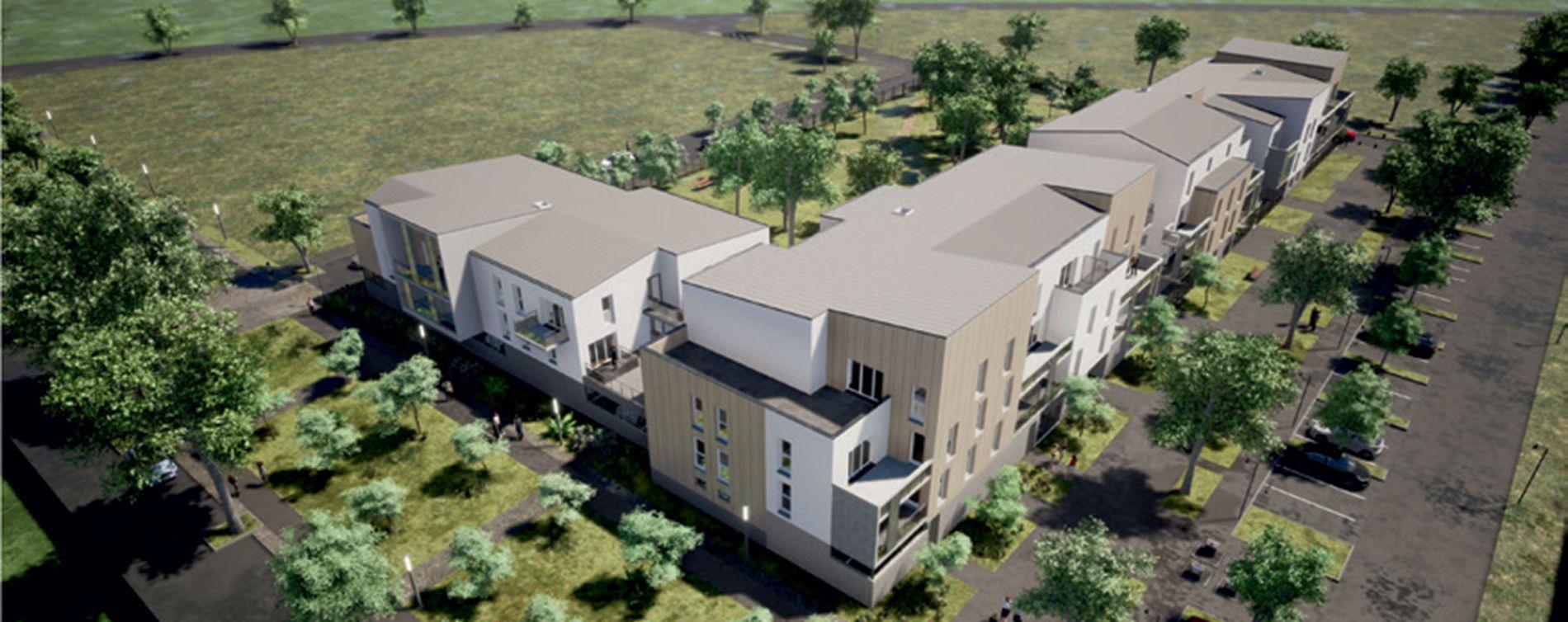 Chartres : programme immobilier neuve « Renouv'O » (2)
