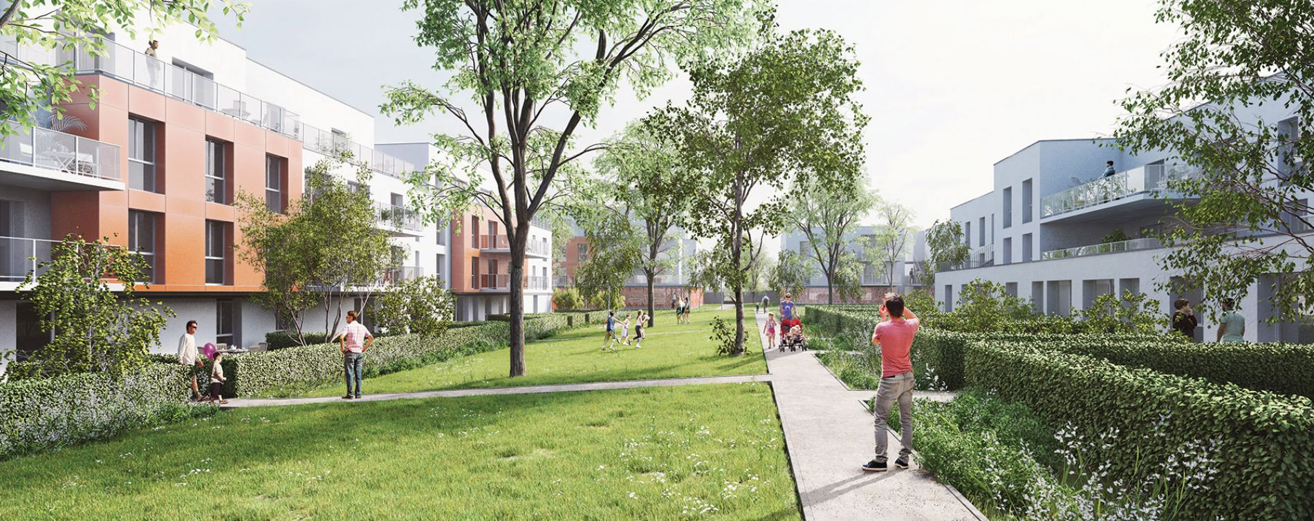 Chartres : programme immobilier neuve « White Lane » en Loi Pinel (2)