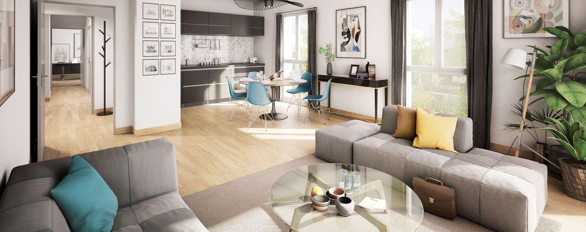 Chartres : programme immobilier neuve « White Lane » en Loi Pinel (3)