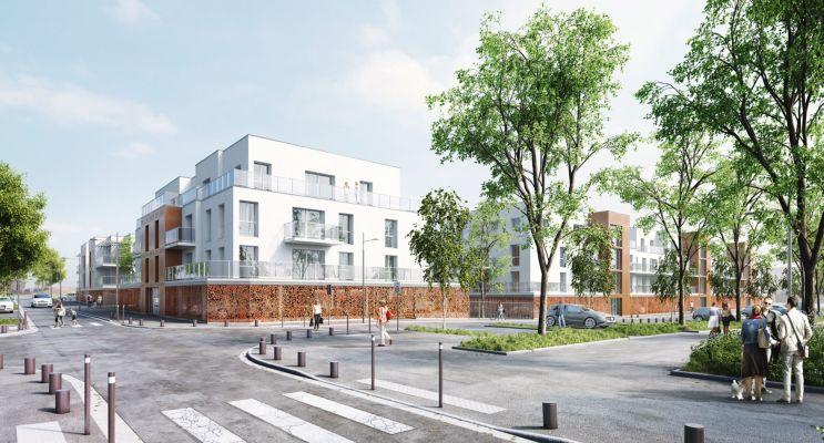 Chartres programme immobilier neuf « White Lane » en Loi Pinel