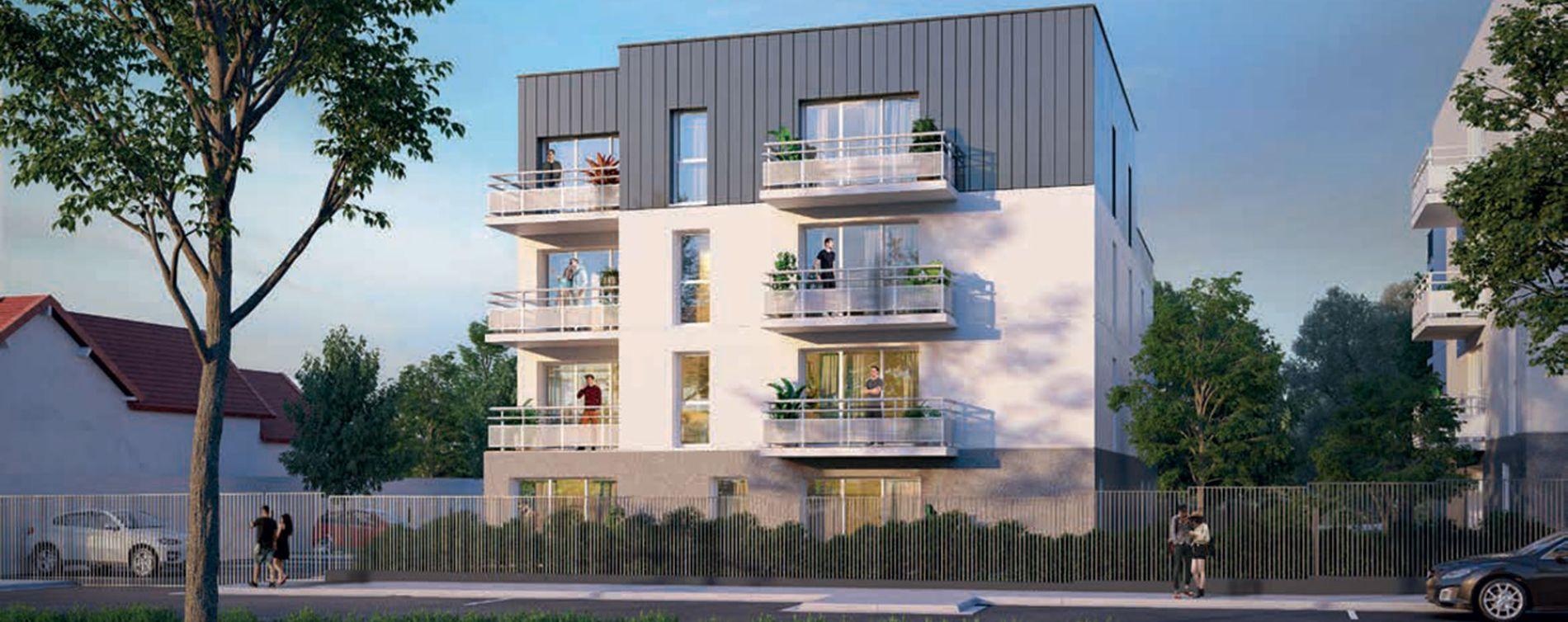 Dreux : programme immobilier neuve « Le Churchill »