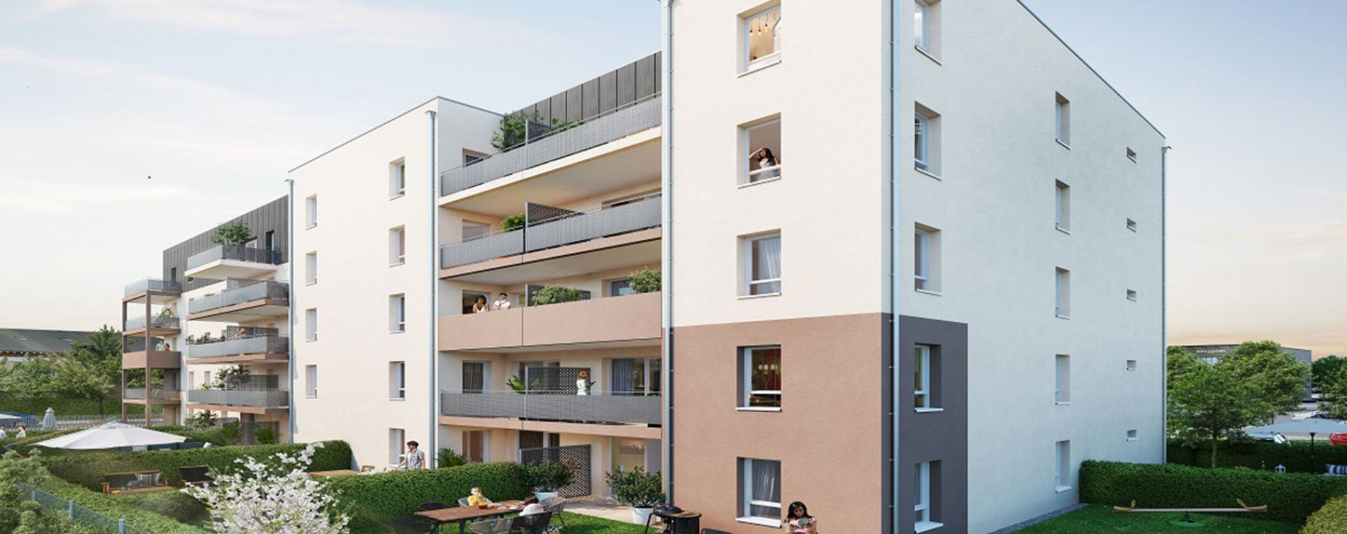 Lucé : programme immobilier neuve « Evergreen » (2)