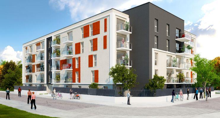 Lucé : programme immobilier neuf « Villa Camélia » en Loi Pinel