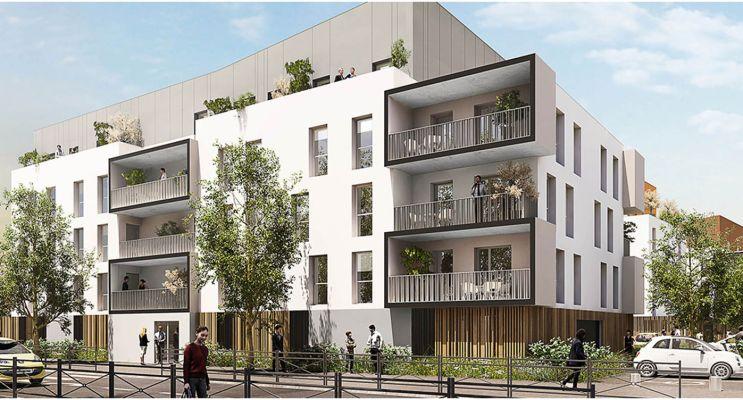 Luisant programme immobilier neuf « Gutenberg » en Loi Pinel