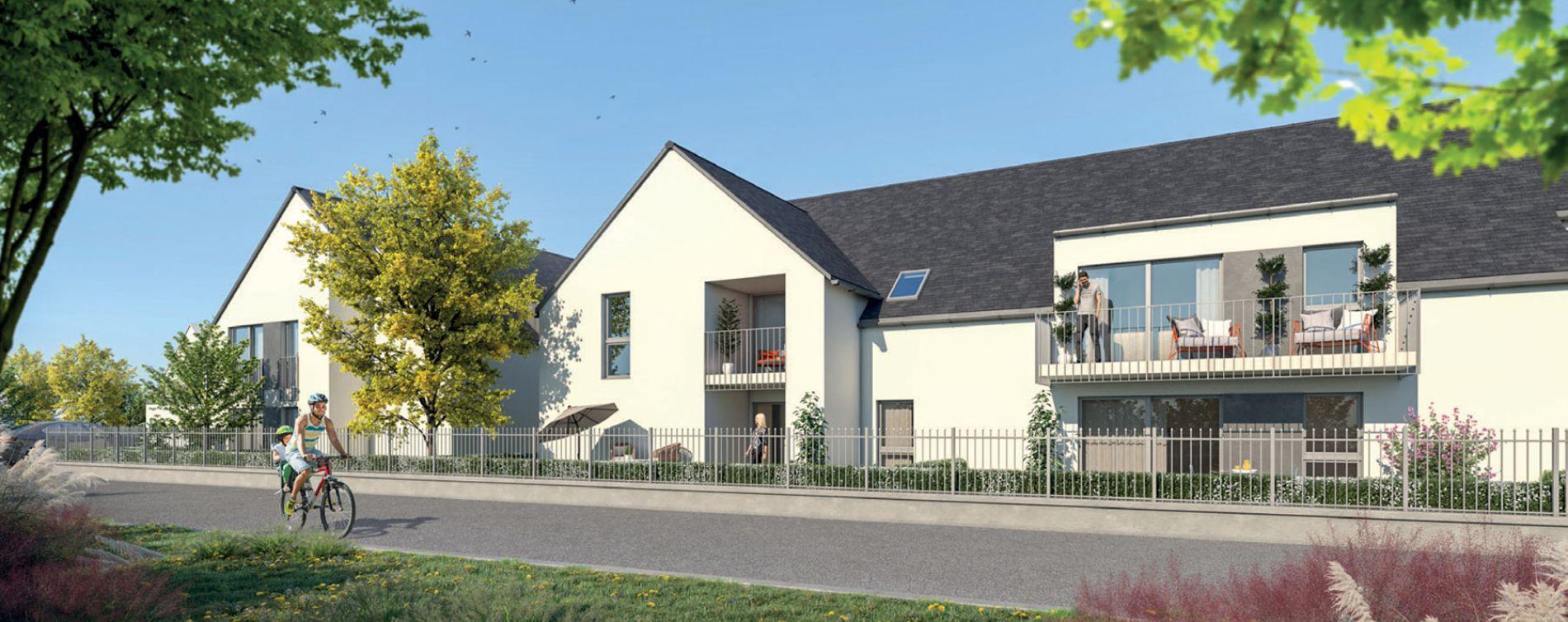 Amboise : programme immobilier neuve « Le Hameau des Lys » en Loi Pinel