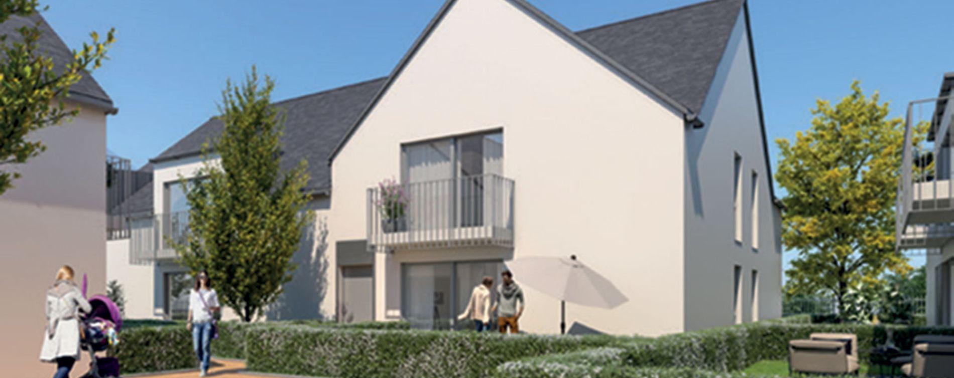 Amboise : programme immobilier neuve « Le Hameau des Lys » en Loi Pinel (2)