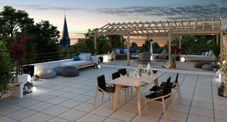 Ballan-Miré : programme immobilier neuf « L'Ecrin » en Loi Pinel