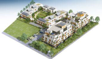 Résidence « Mosaïk » programme immobilier neuf en Loi Pinel à Chambray-lès-Tours n°3