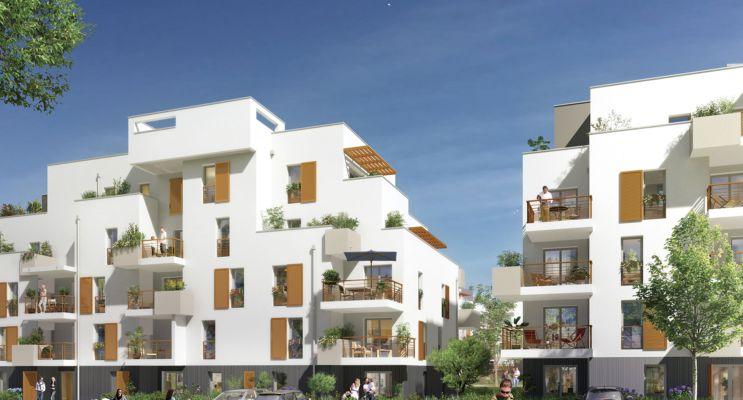 Photo du Résidence « Mosaïk » programme immobilier neuf en Loi Pinel à Chambray-lès-Tours