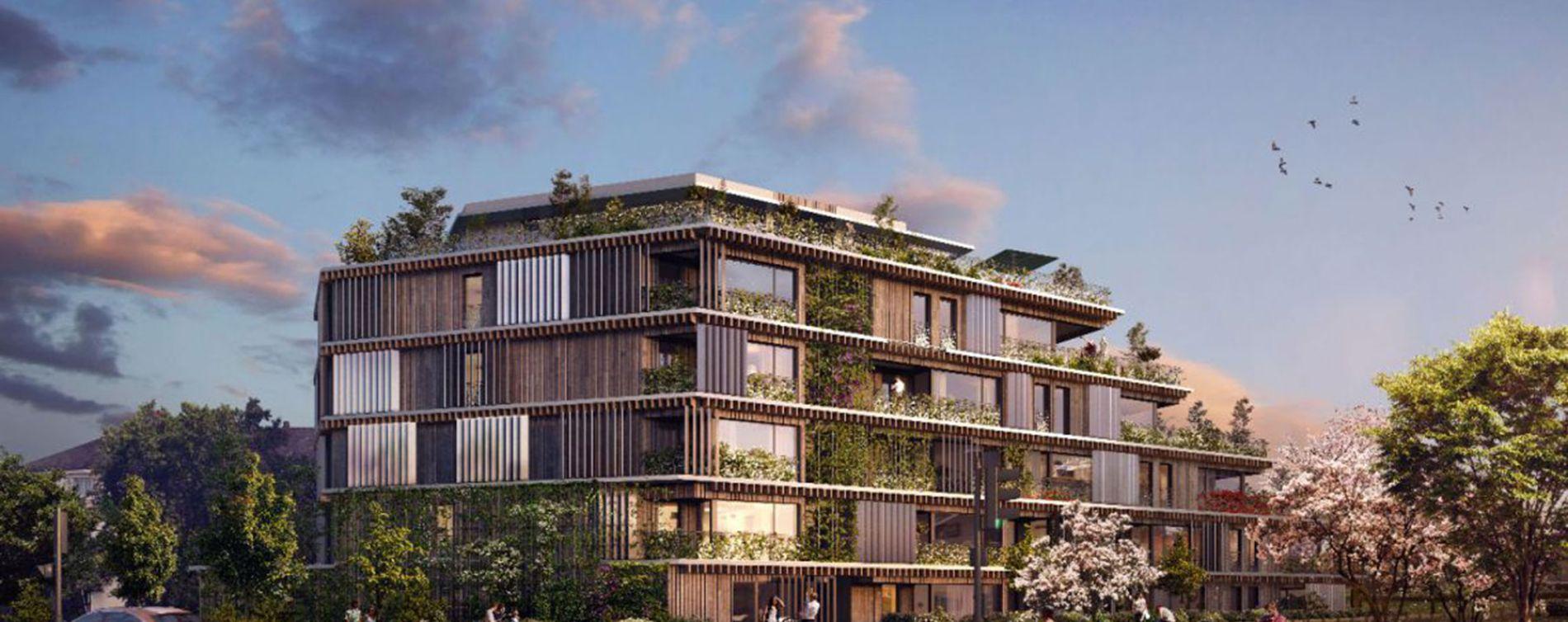 Chambray-lès-Tours : programme immobilier neuve « Odyssée » en Loi Pinel