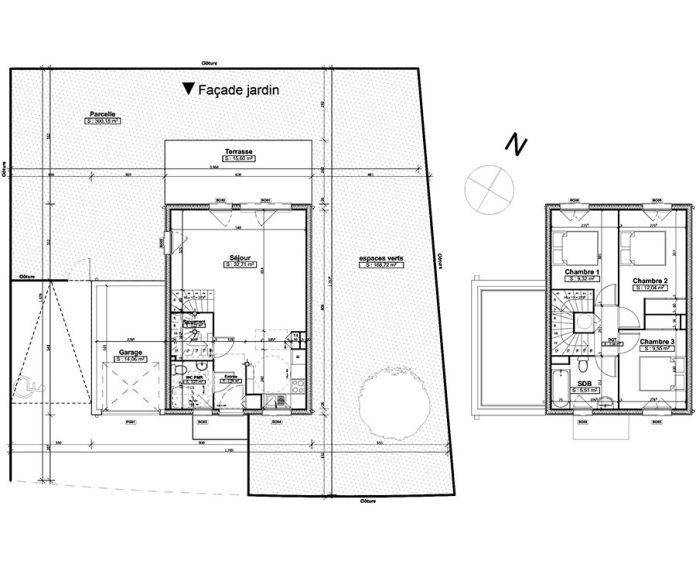 Plan T4 neuf à Chambray-lès-Tours de