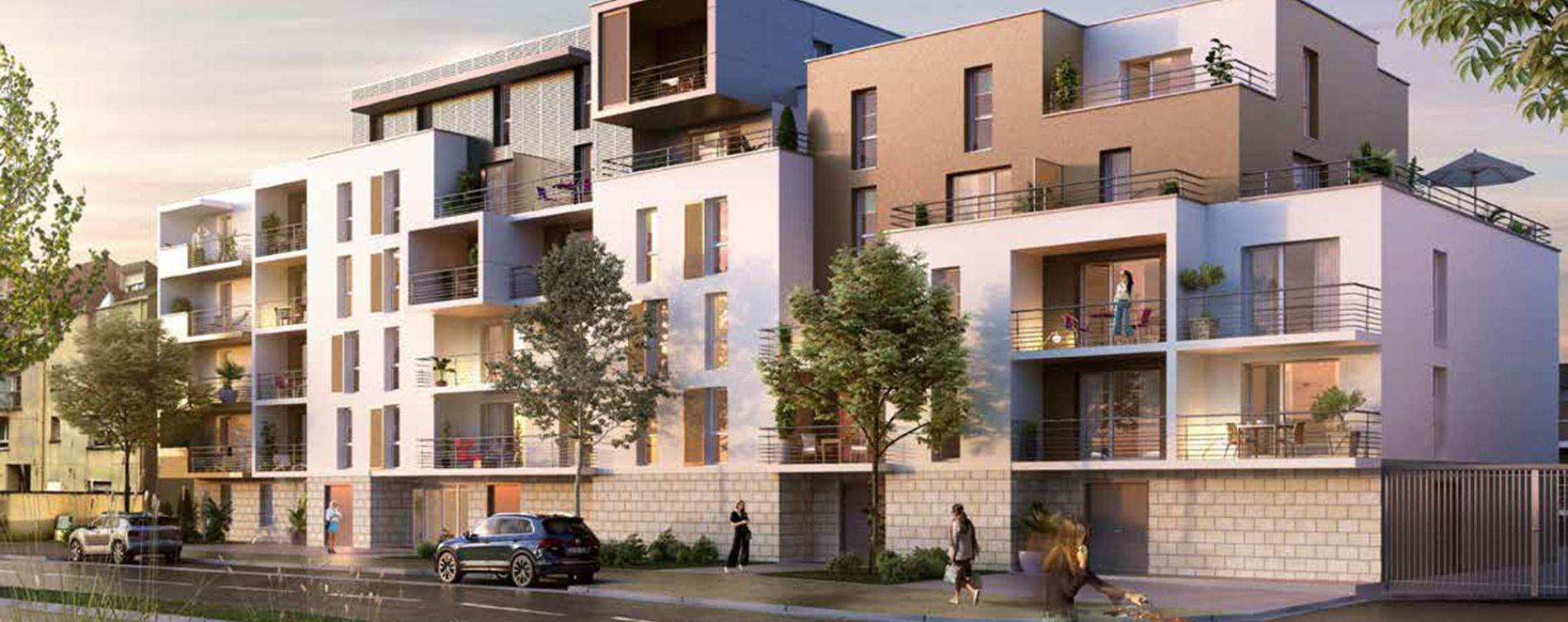 Joué-lès-Tours : programme immobilier neuve « Belvédère » en Loi Pinel