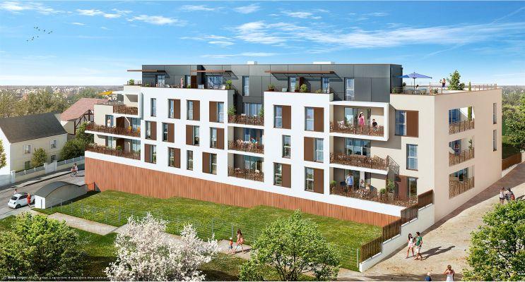 Photo du Résidence « New Urban » programme immobilier neuf en Loi Pinel à Joué-lès-Tours