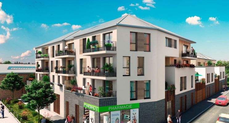 Résidence « Eden Rose » programme immobilier neuf en Loi Pinel à La Riche n°1