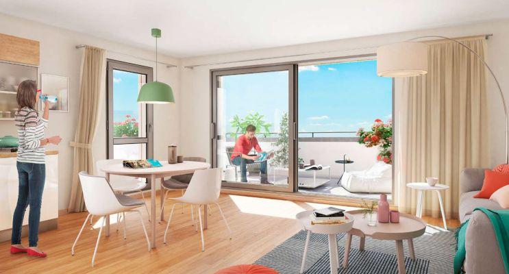 Résidence « Eden Rose » programme immobilier neuf en Loi Pinel à La Riche n°2