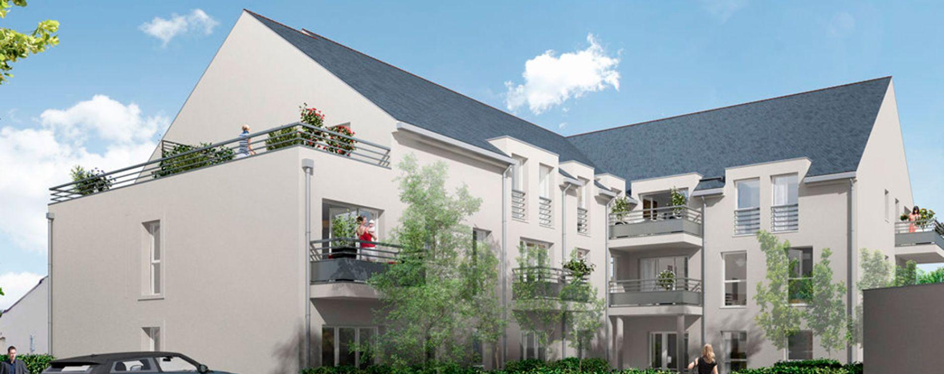 Larçay : programme immobilier neuve « Les Caudalies » en Loi Pinel