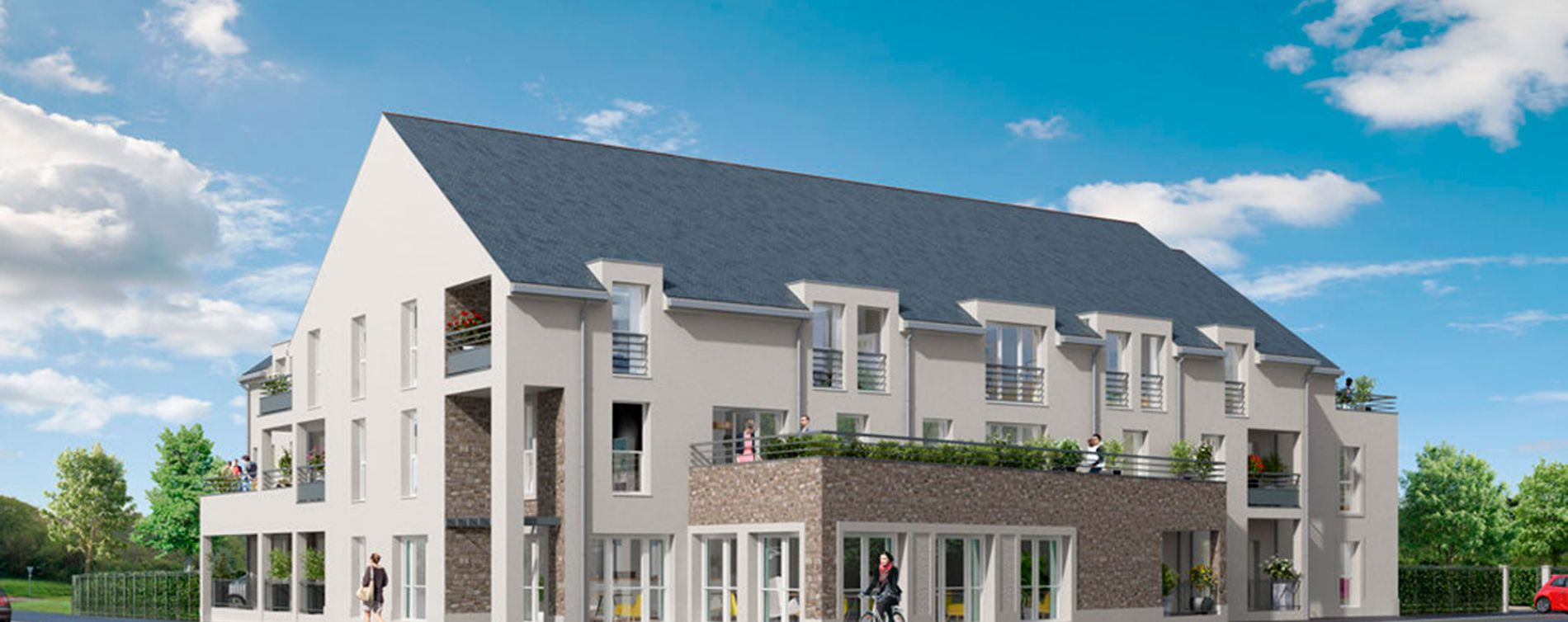 Larçay : programme immobilier neuve « Les Caudalies » en Loi Pinel (2)