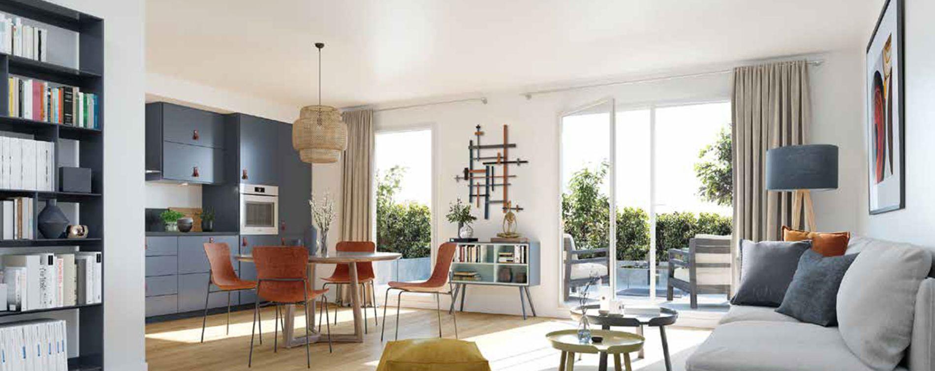 Larçay : programme immobilier neuve « Les Caudalies » en Loi Pinel (3)