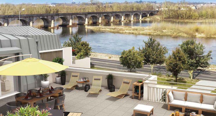 Photo du Résidence « Esprit Loire » programme immobilier neuf en Loi Pinel à Montlouis-sur-Loire