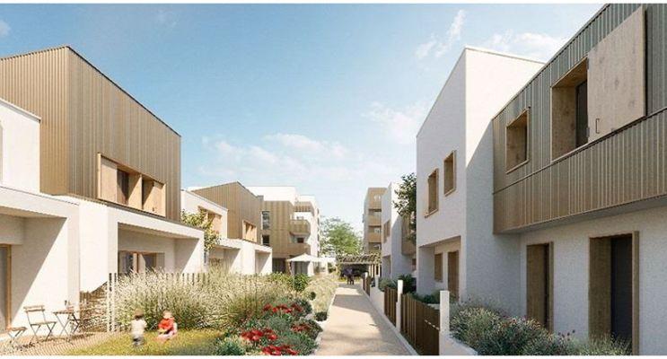 Résidence « Grand Air - Maisons » programme immobilier neuf en Loi Pinel à Montlouis-sur-Loire n°1