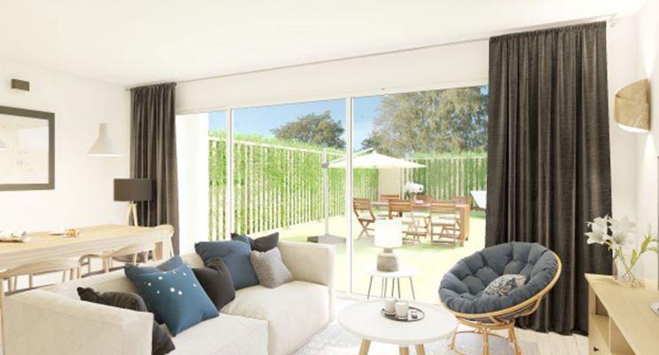 Résidence « Grand Air - Maisons » programme immobilier neuf en Loi Pinel à Montlouis-sur-Loire n°2