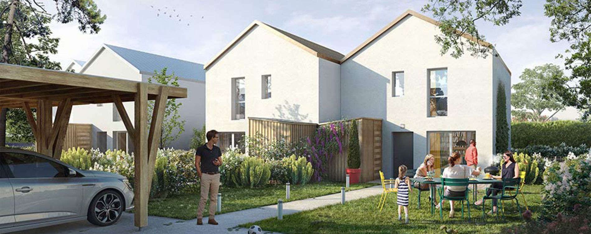 Montlouis-sur-Loire : programme immobilier neuve « Les Allées d'Olympe » en Loi Pinel (2)