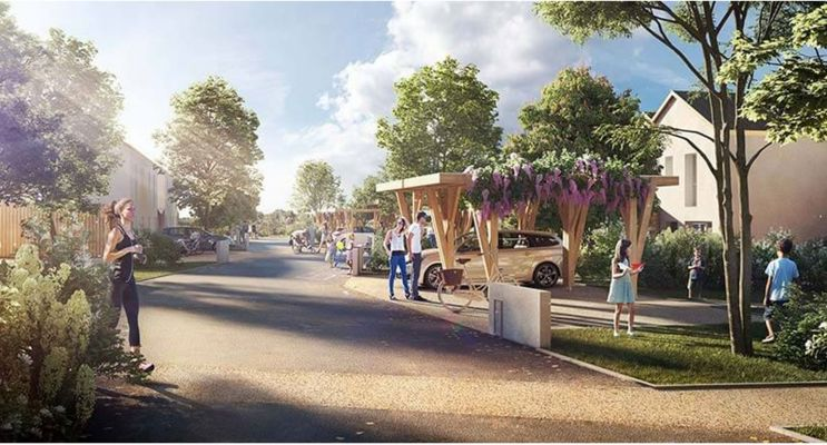Montlouis-sur-Loire programme immobilier neuf « Les Allées d'Olympe » en Loi Pinel
