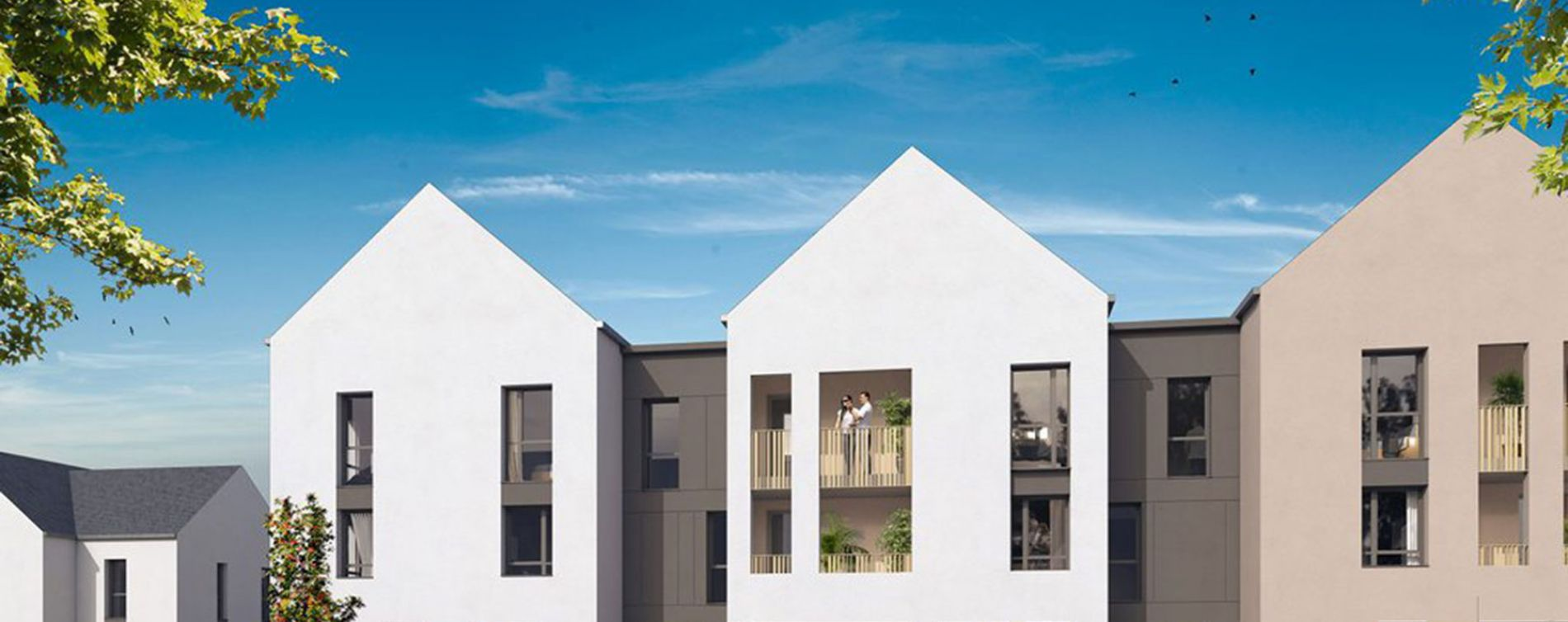 Saint-Avertin : programme immobilier neuve « Les Contemporaines » en Loi Pinel (2)