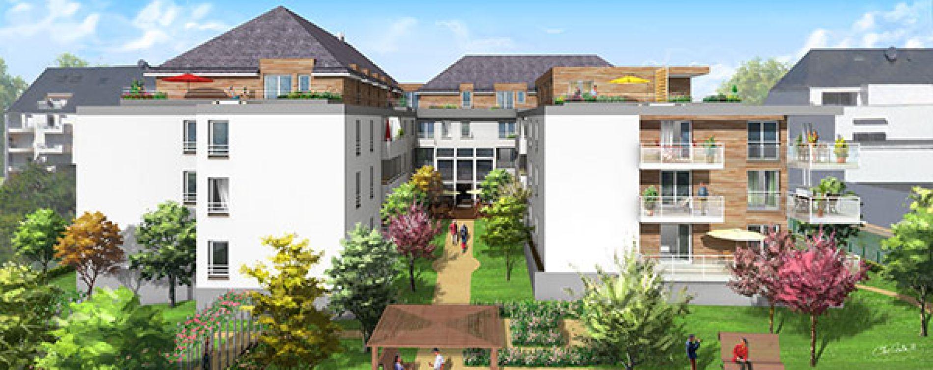 Saint-Avertin : programme immobilier neuve « Les Senioriales de st Avertin »