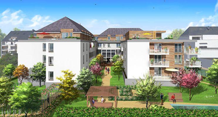 Photo du Résidence « Les Senioriales de st Avertin » programme immobilier neuf en Loi Pinel à Saint-Avertin
