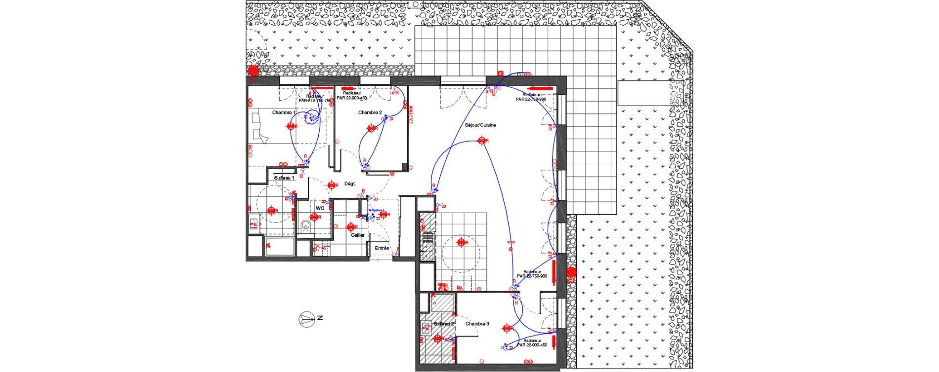 Plan T4 neuf à Saint-Cyr-sur-Loire de