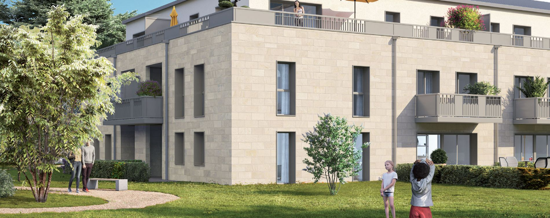 Saint-Cyr-sur-Loire : programme immobilier neuve « Elixir » en Loi Pinel (2)