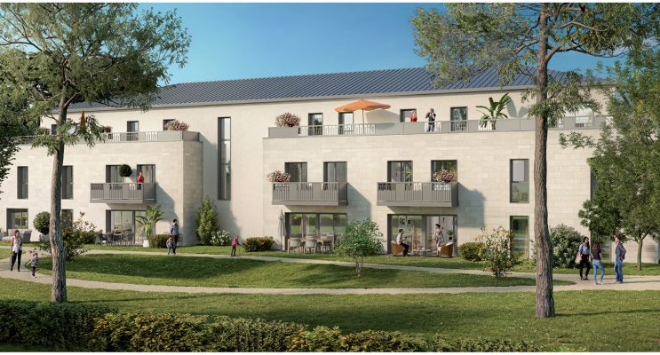 Saint-Cyr-sur-Loire programme immobilier neuf « Elixir » en Loi Pinel