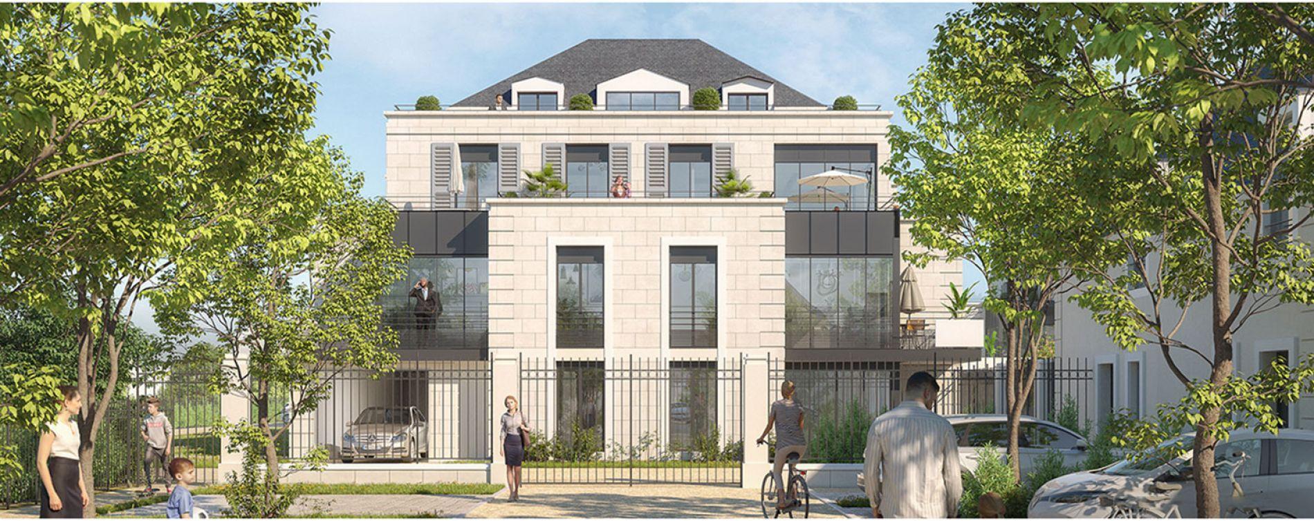 Saint-Cyr-sur-Loire : programme immobilier neuve « Le Domaine de la Chanterie »