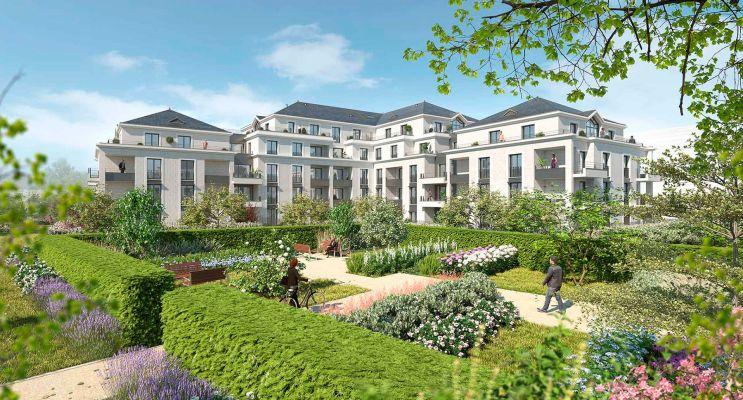 Saint-Cyr-sur-Loire : programme immobilier neuf « Parc Royal » en Loi Pinel