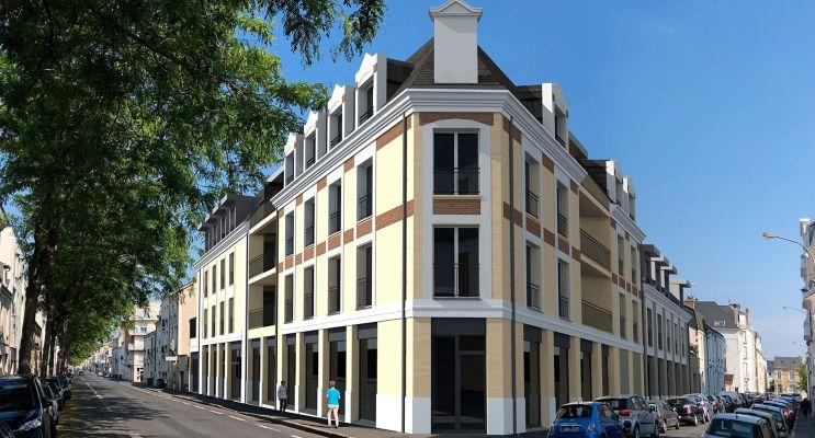 Résidence « Art Déco » programme immobilier neuf en Loi Pinel à Tours n°1
